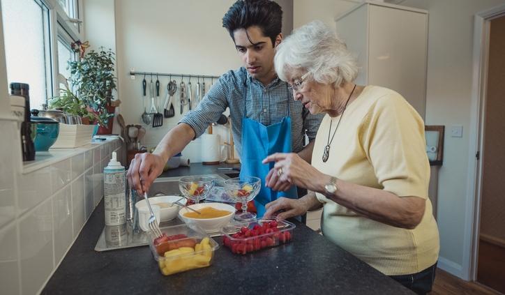 caregivers have hard work