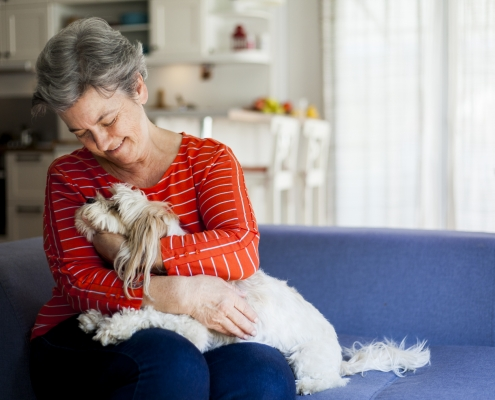 health benefits for seniors with pets